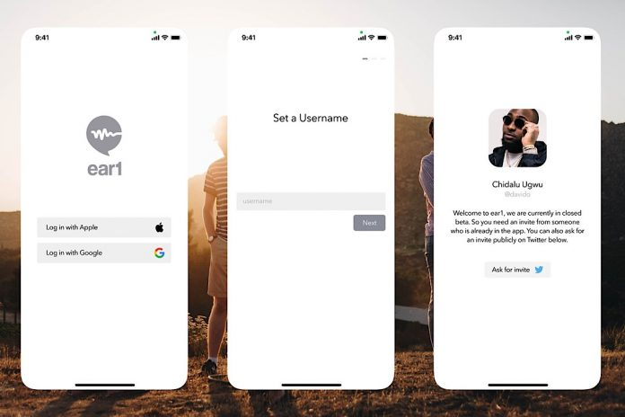 Ear1social: A new social app that allows you talk to any top person in your field