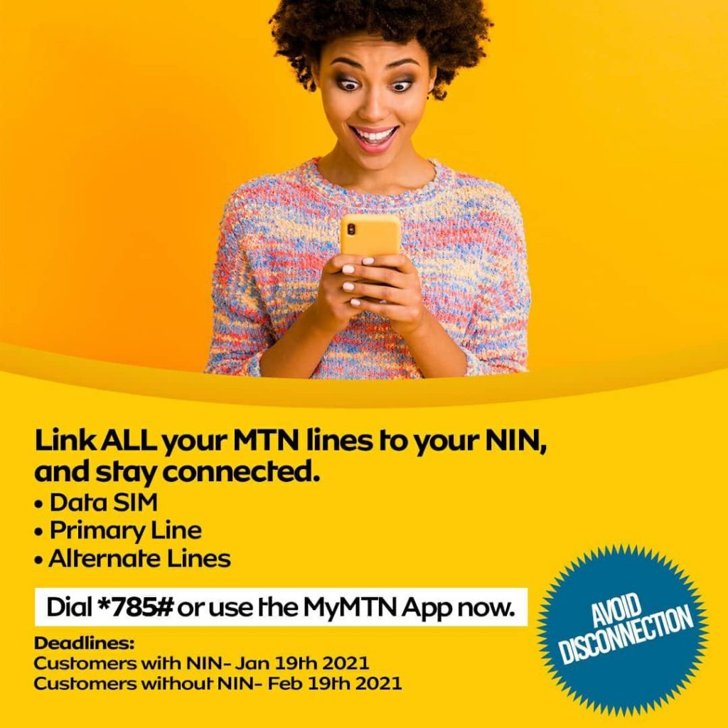 How to link all your MTN lines to your NIN