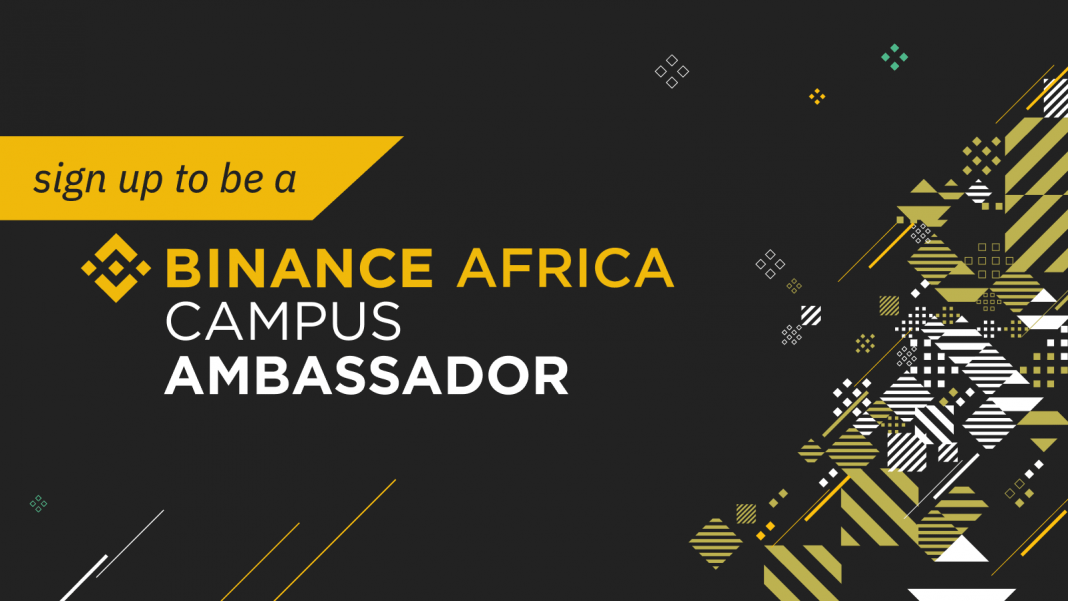 Apply to become a Binance Africa campus ambassador : Earn while you study