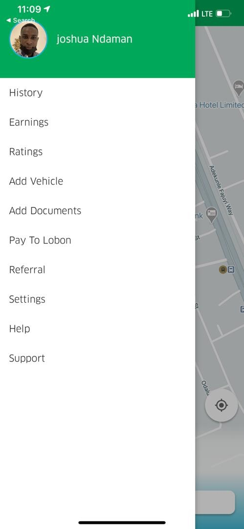 Sign up as a Lobon driver