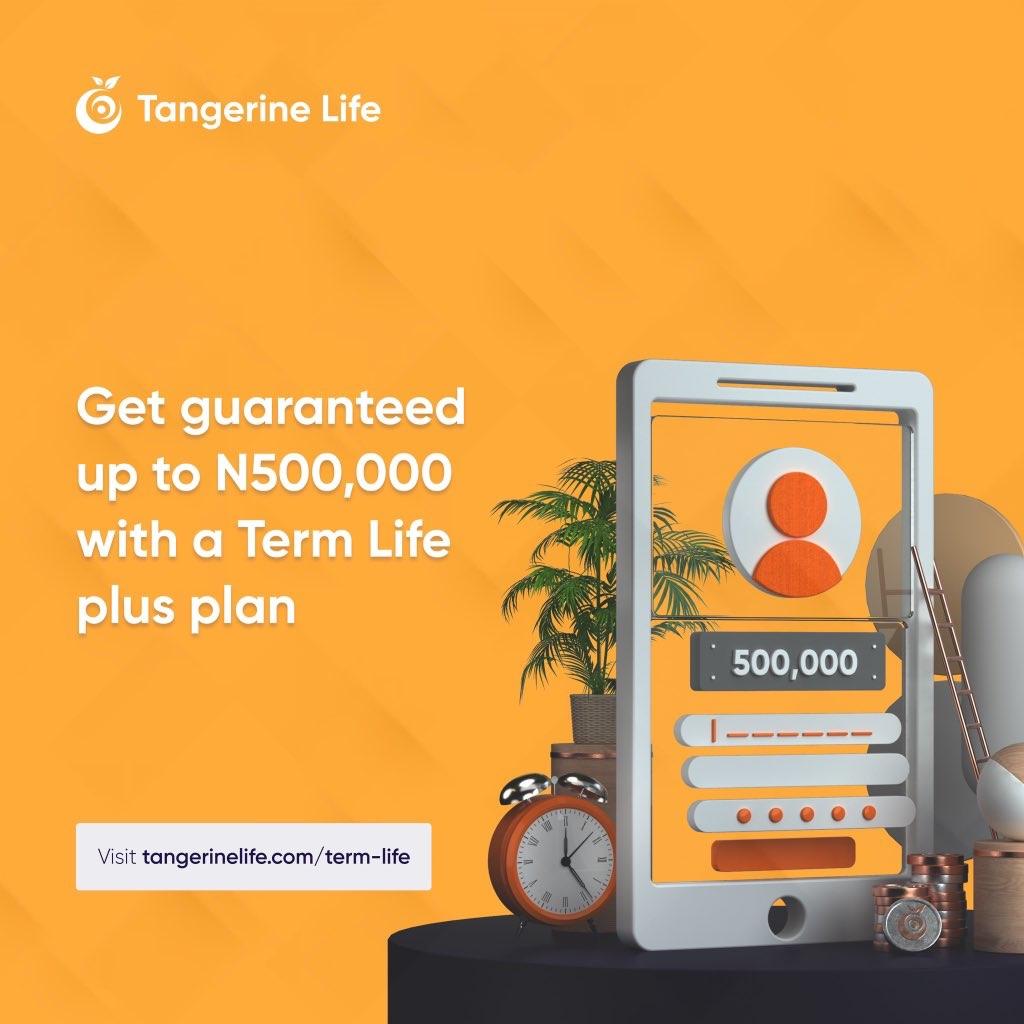 Tangerine Term Life Plus plan